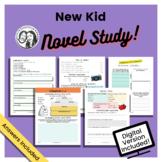 New Kid by Jerry Craft - Printable + Digital Novel Study
