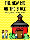 New Kid on the Block- New Student Activity Packet
