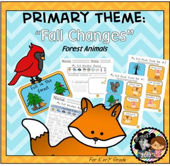Kindergarten STEM Theme - Fall Changes