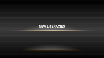 New Literacies, Technology in the Classroom 1