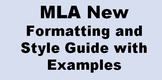 New MLA Style Guide for Citing Sources