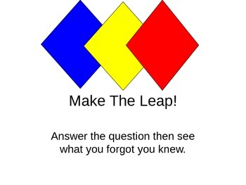 Make the leap - helping kids connect