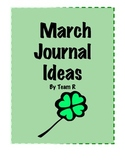 New March Journal Idea Cards