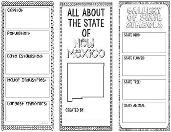 New Mexico - State Research Project - Interactive Notebook