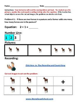 K - New Mexico - Common Core -  Operations and Algebraic Thinking