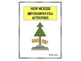 New Mexico Differentiated State Activities