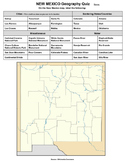 New Mexico Geography Quiz