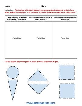 K - New Mexico - Geometry - Common Core