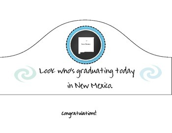 New Mexico Graduation hat