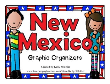 New Mexico Graphic Organizers (Perfect for KWL charts and