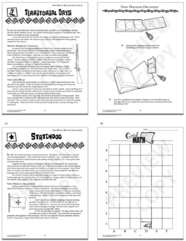New Mexico History Bundle of SEVEN Interactive Notebook Lessons