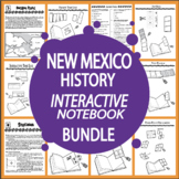 New Mexico History State Study Interactive Notebook Bundle – SEVEN Lessons