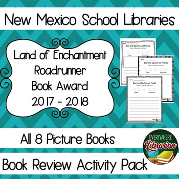New Mexico Land of Enchantment 2017 - 2018 Book Review Act