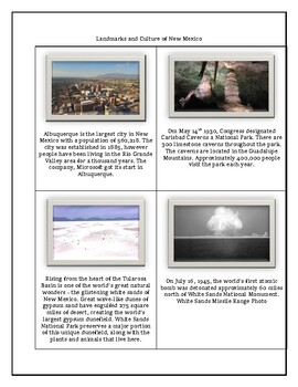 New Mexico Maps, Flag, Data and Geography Assessment Questions