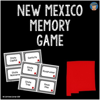 New Mexico Memory Game