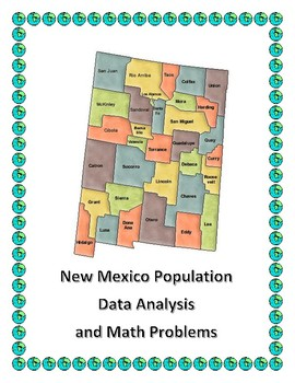 Data Analysis and Math Word Problems on the Population of New Mexico