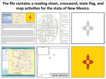 New Mexico - State Activity Set