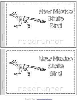 New Mexico State Symbols Notebook