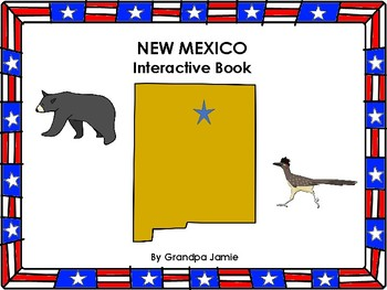 New Mexico State interactive book grades pre-k - 2nd: autism, social studies