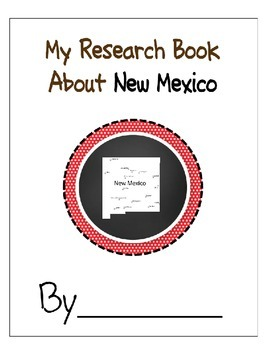New Mexico Student Research Book