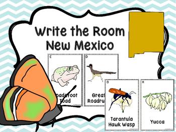 New Mexico Symbols Write The Room
