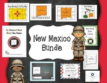 New Mexico Themed Bundle- 10 resources