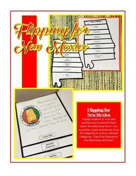 New Mexico Unit Study Flipbook