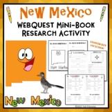 New Mexico Webquest Common Core Research Mini Book