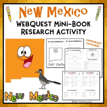 New Mexico Webquest Common Core Research Mini Book