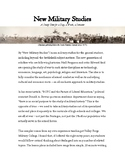New Military Studies
