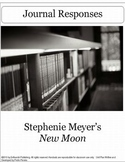 New Moon by Stephenie Meyer Writing Journals