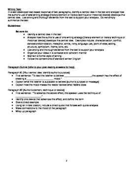 New NYS Common Core English Regents 2014 - Part 3 - Stephen King