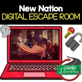 New Nation Digital Escape Room, New Nation Breakout Room