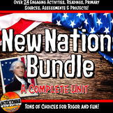 New Nation First Five Presidents Complete Unit Lessons, Activities Bundle