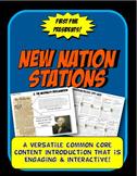 New Nation, Hamilton, Jefferson Stations Flow Chart Activi