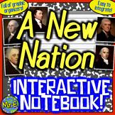 New Nation Interactive Notebook! Active Learning on Washington, Adams, Jefferson