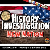 New Nation Investigation History Lesson Stations & Presentation