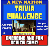 New Nation Review! Jeopardy-like game to review Washington, Adams, Jefferson!