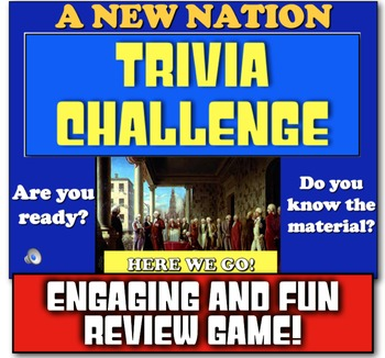 New Nation Review! Jeopardy-like game to review Washington
