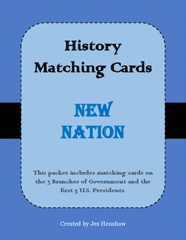 America's New Nation Matching Cards Review