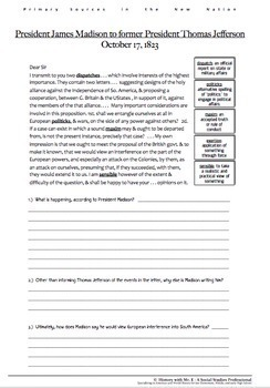 New Nation Primary Sources! Differentiated Warmups for Washington, Adams, More!