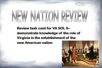 New Nation Review VA SOL 6