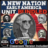 New Nation Unit / PPTs, Worksheets, Plans, Kahoot, Test + Distance Learning