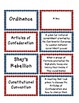 New Nation and Government Matching - Vocabulary, Important Figures, Key Events