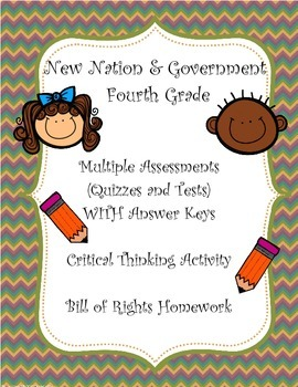 New Nation/Government Assessment Bundle