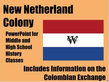 New Netherland & Colombian Exchange