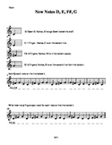 New Note Packet-Note Reading for Beginning Strings