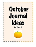 New October Journal Ideas Cards