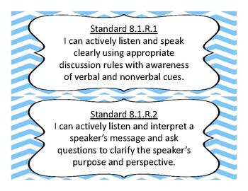 New Oklahoma 8th Grade Language Arts Academic Standards 2017-2018