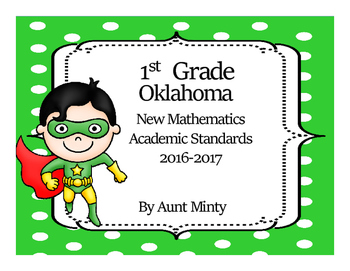 2017-2018 Oklahoma First Grade Math  Standards and Objectives